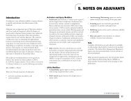 Guide To Weed Control, 2012-2013 - Notes on Adjuvants