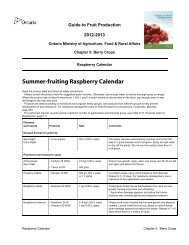 PDF 91 kb - Ontario Ministry of Agriculture, Food and Rural Affairs