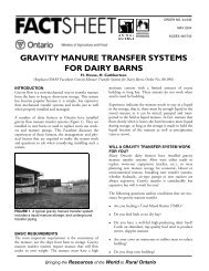 04-039 - Gravity Manure Transfer Systems for Dairy Barns
