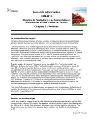 PDF 151 kb - Ontario Ministry of Agriculture, Food and Rural Affairs