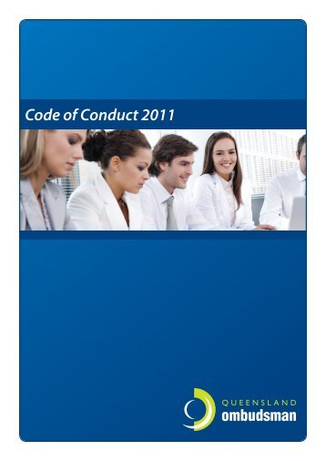 Code of Conduct 2011 - Queensland Ombudsman