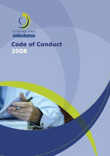 Code of Conduct - Queensland Ombudsman - Queensland ...