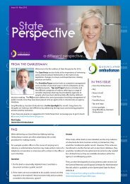 Issue 18 - Queensland Ombudsman