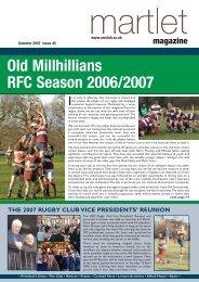 Issue 45 – Summer 2007 - Old Millhillians Club