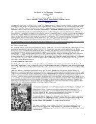 The Book M: or Masonry Triumphant - Onondaga and Oswego ...
