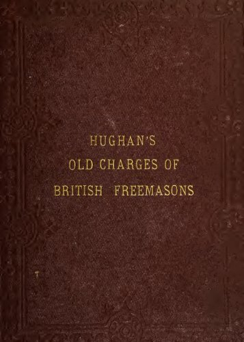 The old charges of British Freemasons - Onondaga and Oswego ...