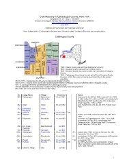 Craft Masonry in Cattaraugus County, New York - Onondaga and ...