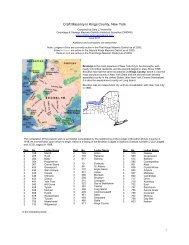 Craft Masonry in Kings County, New York - Onondaga and Oswego ...