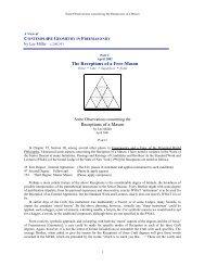 Masonic Geometry Part V - Onondaga and Oswego Masonic District ...
