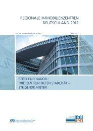 Regionale Immobilienzentren 2012 - Deutsche Genossenschafts ...