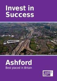 Ashfords Future (2006) Invest in Sucess Brochure - OMEGA Centre