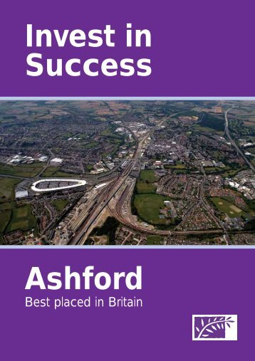 Ashfords Future (2006) Invest in Sucess Brochure - OMEGA Centre