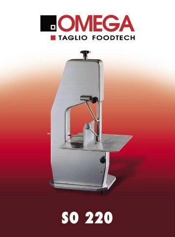 SO 220 - Omega Taglio Foodtech