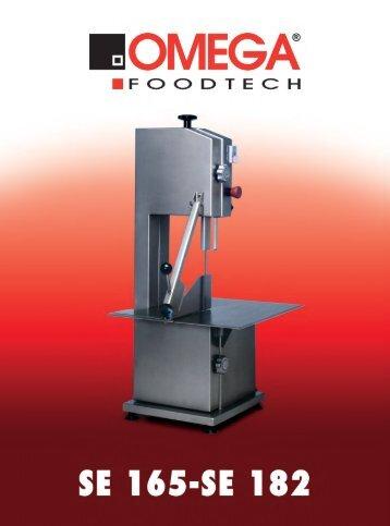 SE 165-SE 182 - Omega Taglio Foodtech