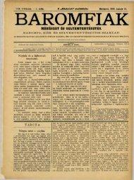 BAROMFIAK - Országos Mezőgazdasági Könyvtár