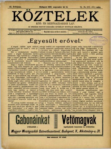 74—75. - Országos Mezőgazdasági Könyvtár
