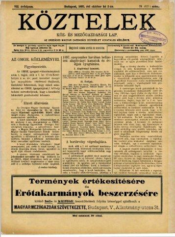 79. - Országos Mezőgazdasági Könyvtár