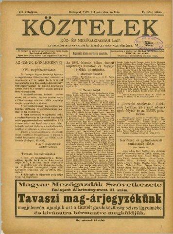 18. - Országos Mezőgazdasági Könyvtár