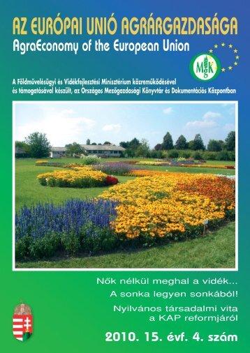 Forrás - Országos Mezőgazdasági Könyvtár
