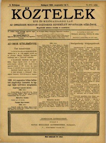 71. - Országos Mezőgazdasági Könyvtár