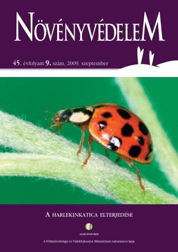 2009/9. - Országos Mezőgazdasági Könyvtár