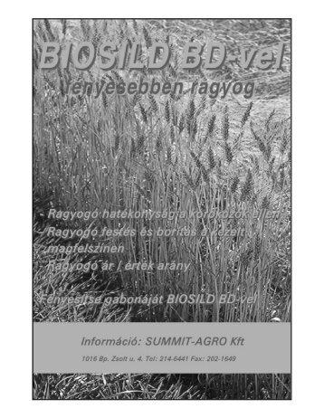 2000/3. - Országos Mezőgazdasági Könyvtár