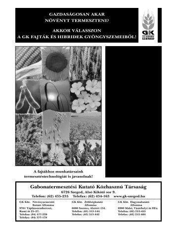 2000/5. - Országos Mezőgazdasági Könyvtár