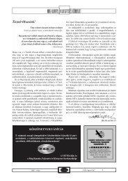 2007/2. - Országos Mezőgazdasági Könyvtár
