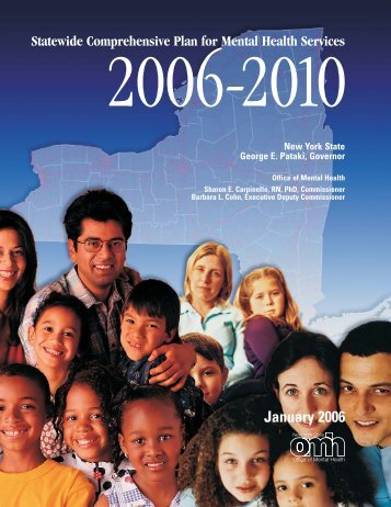 2006-2010 Statewide Comprehensive Plan for Mental Health Services