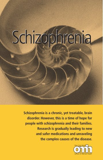 Schizophrenia - Office of Mental Health - New York State