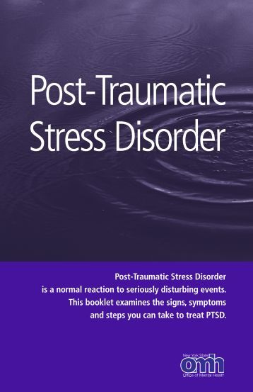 Post-Traumatic Stress Disorder - Office of Mental Health - New York ...
