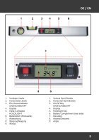 Manual Digital Spirit Level - 416mm with Backlight - Page 3