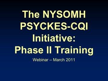 Training Slides - New York State Office of Mental Health