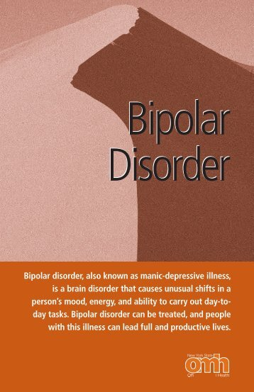 Bipolar Disorder - Office of Mental Health - New York State