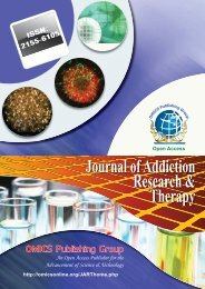 Journal of Addiction Research & Therapy - OMICS Group