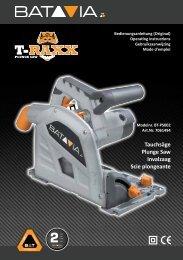 Manual T-RAXX - Plungle Saw 1200 W