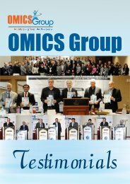 Testimonials - OMICS Group