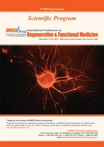 Scientific Program - OMICS Group