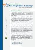 Hair Transplantation & Trichology - OMICS Group - Page 2