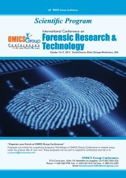 Forensic Research & Technology - OMICS Group