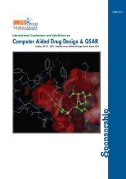 Computer Aided Drug Design & QSAR - OMICS Group