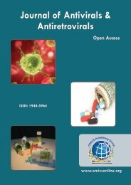 Journal of Antivirals & Antiretrovirals - OMICS Group