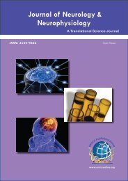 Journal of Neurology & Neurophysiology - OMICS Group