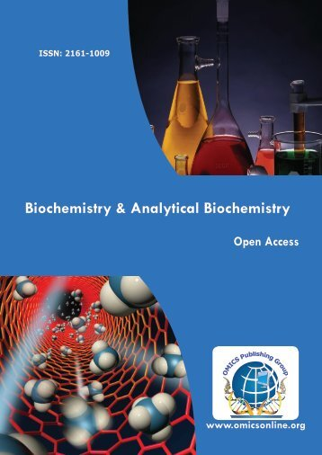 Biochemistry & Analytical Biochemistry - OMICS Group
