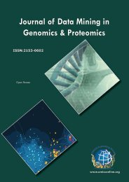 Journal of Data Mining in Genomics & Proteomics - OMICS Group