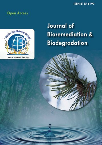 Journal of Bioremediation & Biodegradation - OMICS Group
