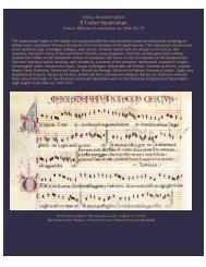 Codex Squarcialupi - OMI - Old Manuscripts & Incunabula