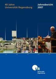 Jahresbericht 2007 40 Jahre Universit