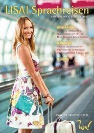 LISA! Sprachreisen Online Katalog 2014