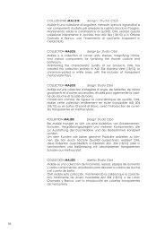 34 COLLEZIONE MALIZIE design: Studio Cibò Malizie è una ... - Oml